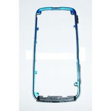 Tampa Completa Preto com Aro Azul Nokia 5800