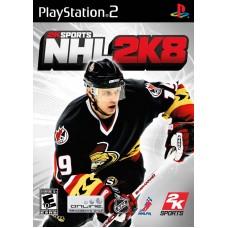 PS2 2K Sports - NHL 2K8 - Usado