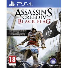 PS4 ASSASSIN´S CREEDIV BLACK FLAG -USADO