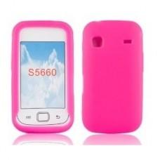 Capa Silicone Rosa Samsung Galaxy Gio/S5660