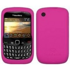 Capa Silicone BlackBerry 8520