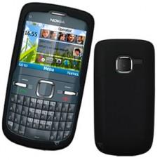 Capa Silicone Nokia C3