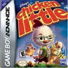 GBA Chicken Little - Usado Sem Caixa