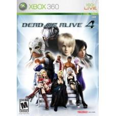 XBOX 360 Dead or Alive 4 - Usado