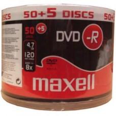 DVD-R Maxell 8x Pack 55 (50 + 5 oferta)