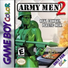 GBC Army Men 2 Real Combat. Plastic Men. - Novo