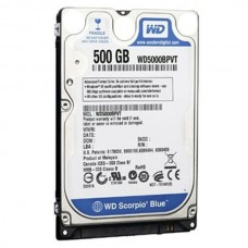 "DISCO INTERNO 500GB 2.5"" SATA WD SCORPIO BLUE"
