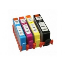 Conjunto 4 Tinteiros Compatíveis HP ref. 364XL