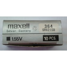 Pilha 364 1.55V Maxell