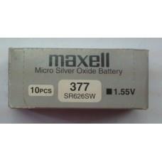 Pilhas 377 1.55V Maxell