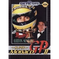 MD Ayrton Senna's Super Monaco GP2 - Usado Sem Caixa