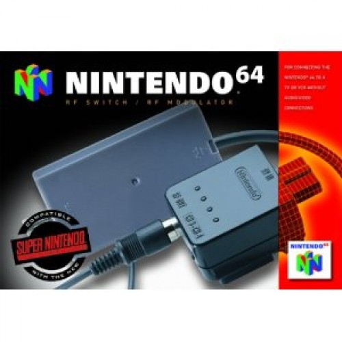 Nintendo64 RF Switch / RF Modulator - Novo