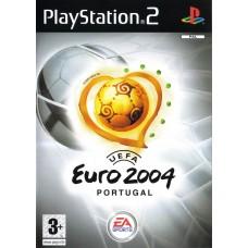 PS2 - UEFA Euro 2004 - Usado sem caixa