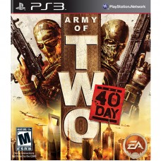PS3 Army of Two 40th Day - Usado