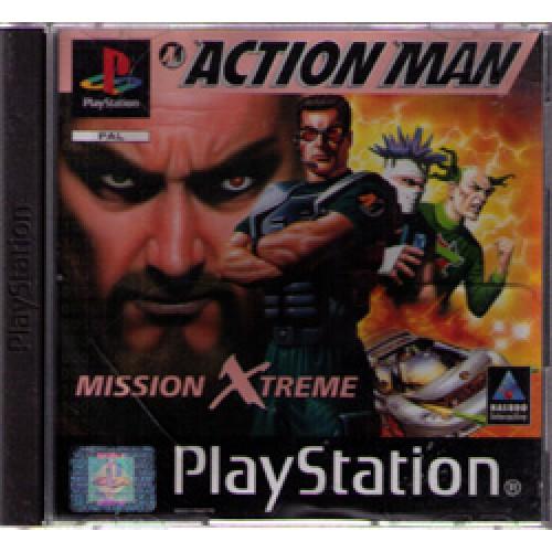PS1 Action Man - Usado