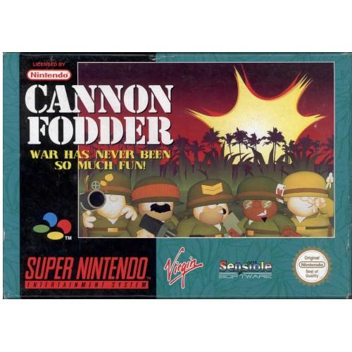 SN Cannon Fodder - Usado