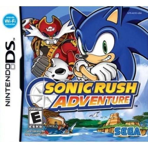 NDS Sonic Rush Adventure- Usado
