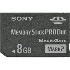Sony Memory Stick Pro Duo  8Gb - Usado