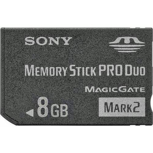 Sony Memory Stick Pro Duo  8Gb - Usado
