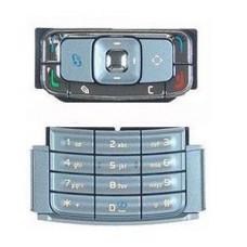 Teclado de Prata Nokia N95 Superior Original - NOVO
