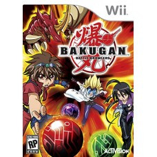 Wii Bakugan Battle Brawlers - Usado