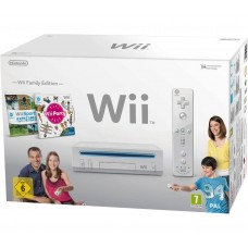 Consola Wii Family Edition com Charge Station - Usada