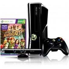 Consola Xbox360 Slim 250GB Alterada LT+ 3.0 + kinect+Jogo Kinect Adventures -Usada